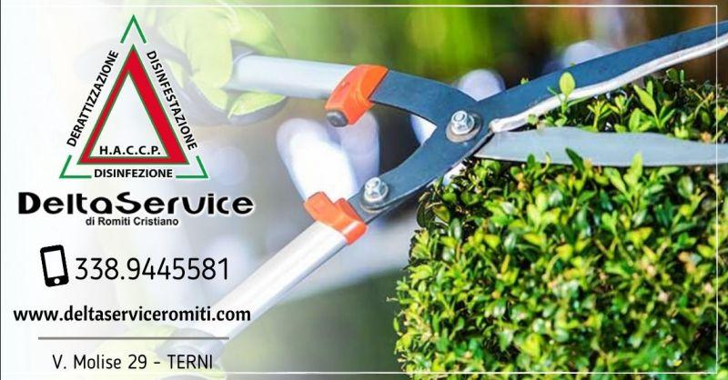 Offerta servizi di pulizia cura del giardino Terni - Occasione giardiniere per manutenzione giardini Terni