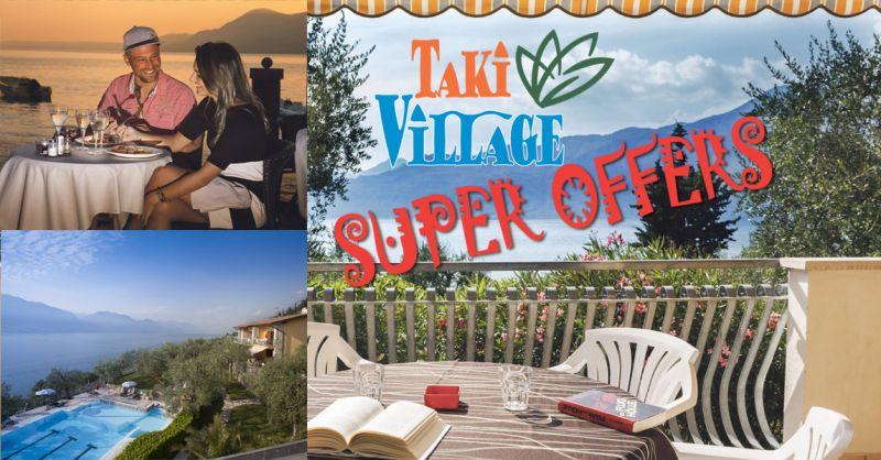 TAKI Village Offerta last Minute vacanza pernottamento villaggio sul Lago di Garda