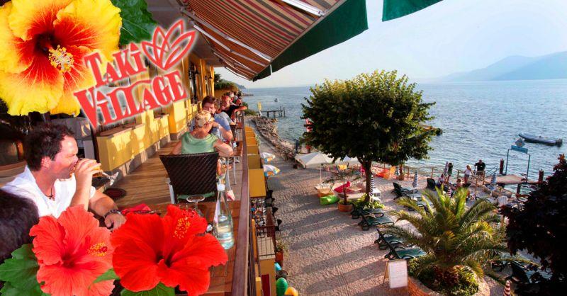 TAKI VILLAGE - Offerta affitto Bungalow sul Lago di Garda - Occasione Hotel posto Barche Garda
