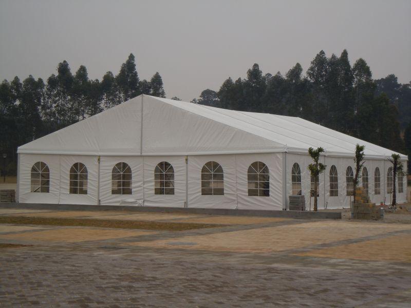AMARANTO IDEA - Occasione vendita TENDOSTRUTTURA 15X25 mt SEMINUOVA in alluminio anodizzato